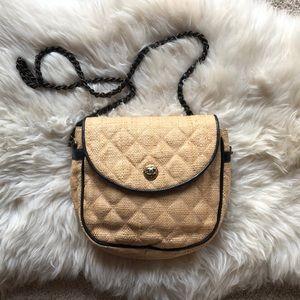 Vintage CHANEL Handbag, Straw VERY RARE